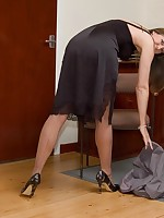 vintage lingerie under business suit - Vintage Milfs